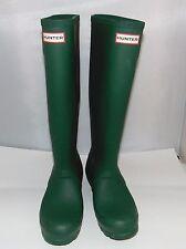 HUNTER Original Tall  Rainboots Green Matte, 39, 8