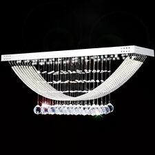 LED Kristal Deckenleuchte Wohnzimmer Beleuchtung Deckenlampe Kronleuchter Lüster