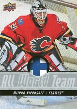 2008/09 Upper Deck All World Team Mikka Kiprusoff  #AWT13