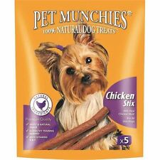Pet Munchies - Chicken Stix Dog Treats - 1 x 50g