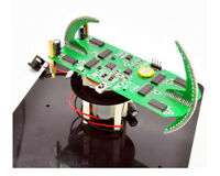 2020 DIY Biaxial Spherical Rotating LED Kit Creative POV Soldering Training