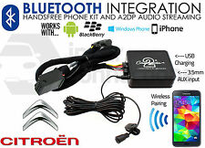 Citroen streaming BLUETOOTH VIVAVOCE CHIAMATE ctactbt 002 AUX USB MP3 iPhone Sony
