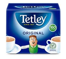 3 X 160 TETLEY ORIGINAL TEA BAGS TEABAGS REDUCED BEST BEFORE 31/07/2021