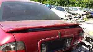 LINCOLN LS 2000 2001 2002 2003 2004 2005 2006 SPOILER RED