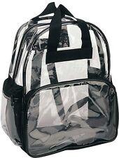 Clear Backpack Transparent Plastic Bag Kids Men and Women School Picnic New