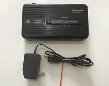 VINTAGE General Electric 3-5301B Cassette Tape Player Recorder With Adapter