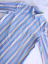 Ralph Lauren Women's Size 6 100% Cotton Striped Button Down Dress Shirt