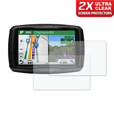 GARMIN ZUMO 590LM 595LM GPS Dashboard Screen Protector 2 x Ultra Clear