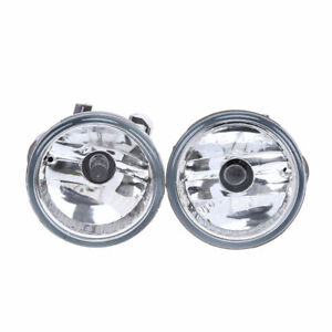 Pair Front Driving Fog Lights Lamps Assembly Fits Toyota Prius 2004-2009 Clear