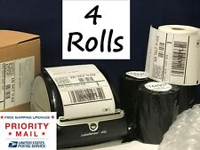 DYMO Shipping Labels 4 Rolls 1744907 compatible for 4XL thermal printer 220/roll