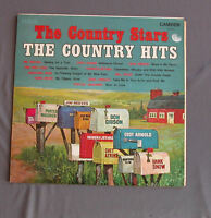 "Vinilo LP 12"" 33 rpm THE COUNTRY STARS - THE COUNTRY HITS"
