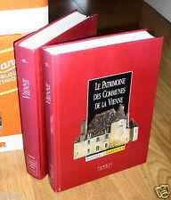 Le Patrimoine Des Communes De La Vienne. Poitou-Charentes. Tomes I Et II Flohic