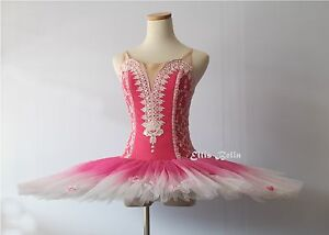 Ballet performance tutu -- Perfomance quality in cherry blossom pink for girl