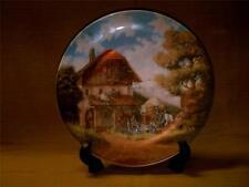 Christian Luckel Idyllic Village Life Plate-The Blacksmith-Seltmann-Germany-1986