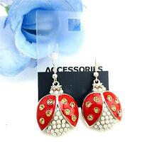 Very cute ladybird charm earrings multiple choices