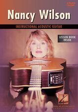 NANCY WILSON - HEART ACOUSTIC GUITAR LESSON *NEW* DVD