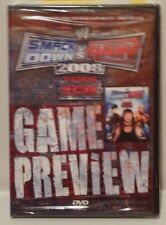 NEW SEALED WWE Smackdown vs Raw 2008 Game preview Promo (DVD) Instructional
