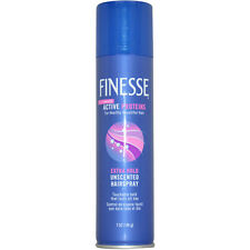 Self Adjusting Extra Hold Unscented Hair Spray by Finesse - 7 oz Hair Spray