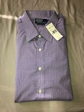 Vintage Polo Ralph Lauren Button Up Shirt Size XXL 2XL Made Italy Purple $202.00