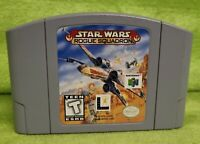 Authentic Genuine Star Wars Rogue Squadron Nintendo 64 N64 - Cartridge Only