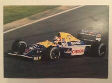 Formula 1 Nigel Mansell Williams Renault FW 14B Postcard
