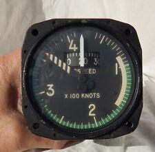 Aero Commander Aircraft 0-420 Knot Airspeed Indicator Gauge Instrument