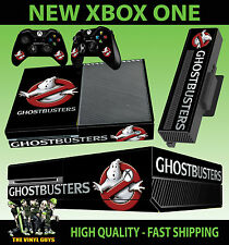 XBOX ONE CONSOLE STICKER GHOST BUSTERS LOGO GHOSTBUSTERS SKIN & 2 PAD SKINS