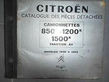Citroën Type H HZ HY ... - 1948 à 1963 : catalogue pièces 441