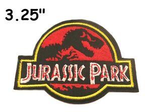 Jurassic Park Jurassic World Movie Ranger Logo Embroidered iron-on Patch