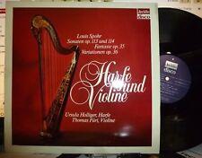 LOUIS SPOHR  Op 113 & 114. 35 & 36 URSULA HOLLIGER: Harfe / THOMAS FURI: Violine