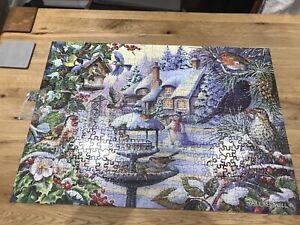 HOP Big 500 Piece Jigsaw Winter Birds