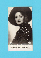 Marlene Dietrich Vintage 1930s Movie Film Star Cigarette Card from Germany #20