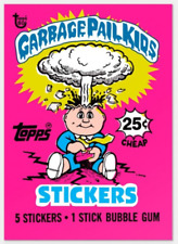 2018 Topps Wrapper Art #23 Garbage Pail Kids GPK 1985 Card 80th Anniversary PS
