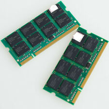 New 2GB KIT 2x 1GB PC3200 DDR400 400Mhz 200pin So-Dimm Laptop Memory Low Density