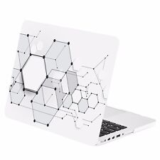 "Geometric 3D Hexagon Rubberized Case for Macbook Pro 13"" w/ Retina A1425/A1502"