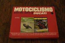 Motociclismo Tells the story of Ducati 1997 English HC/DJ  signed