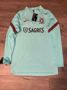 Nike Medium Portugal FPF Player Issue Training Long Sleeve Shirt Jersey Dri-Fit