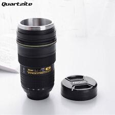 Funny Nikon Camera Lens Tea Coffe Mug Cup-Thermo Mug with Lid Travel mug Great G