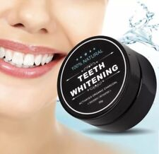 100% ORGANIC ACTIVATED CHARCOAL NATURAL TEETH WHITENING POWDER NATURAL