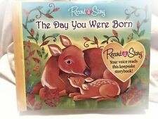 The Day You Were Born ~ Record A Story Book