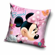 Love Bows | Almohada 40 x 40 cm | Disney Minnie Mouse | Niños Cojín Decoracion