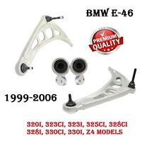 BMW E46 325 330 Front Suspension Left & Right Lower Control Arm With Bushing SET