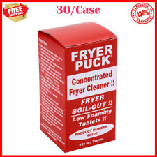 30case 4 Oz Commercial Kitchen Deep Fat Concentrated Fryer Cleaning Tablets