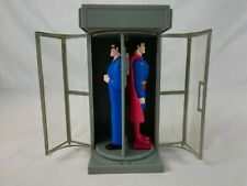 Vintage Superman Clark Kent | PhoneBooth | Jack-in-the-Box Toy | DC Comics 1999
