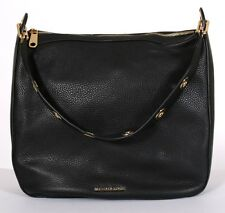 Michael Kors Raven Large Shoulder Bag Black Handbag $348