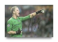 Joe Hart Signed 6x4 Photo Manchester City England Goalkeeper Autograph + COA