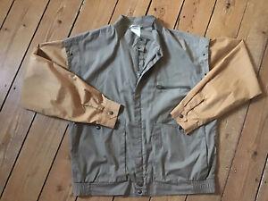Vintage Herren Jacke 80er 80ies New Wave Größe 50 /  M- L Benna Brok APC Vibskov