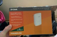D-Link Powerline DHP-500AV 2x Adapters Kit - Great condition