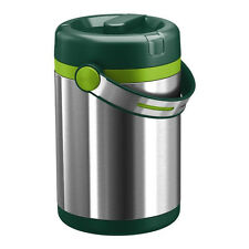 EMSA 512966 Mobility Insulated Flask for Hot and Cold Food 1.2 Litres Green