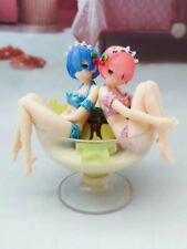 Life in Different World From Zero Ram / Rem Set Figure 13cm Statue Toy No Box